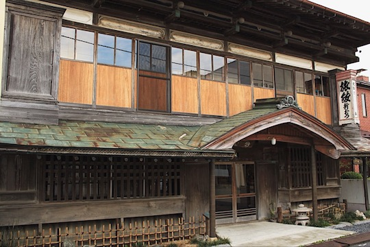 pleasure quarter inn hotel japan old showa