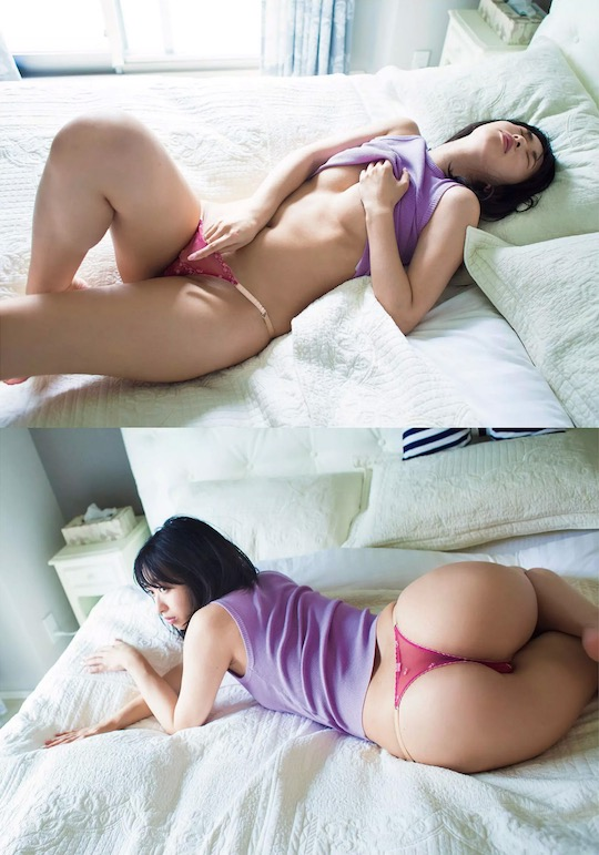 yuka kuramochi nude naked butt ass gravure idol japan hot sexy