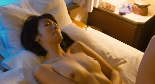 side job kanojo no jinsei wa machigaijanai film movie japanese sex scene nude naked kumi takiuchi