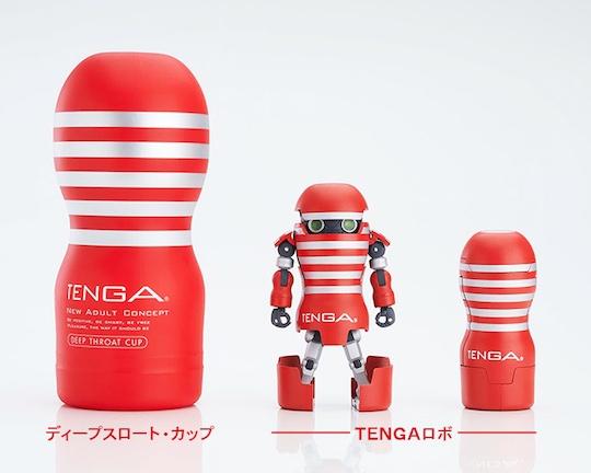 tenga robo robot figure toy mecha japan