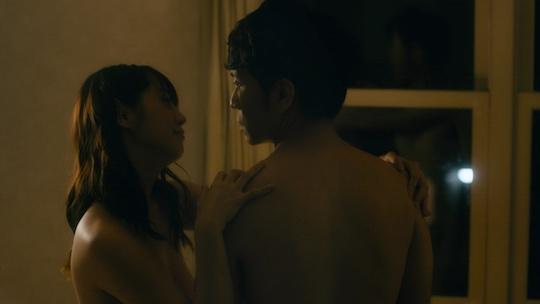 moa hoshizora fuji television drama pornographer sex scene nude nudity naked
