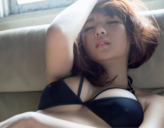 nana asakawa beautiful japanese gravure model idol