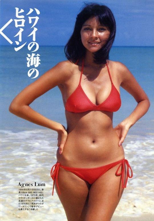 agnes lum japan retro vintage gravure idol