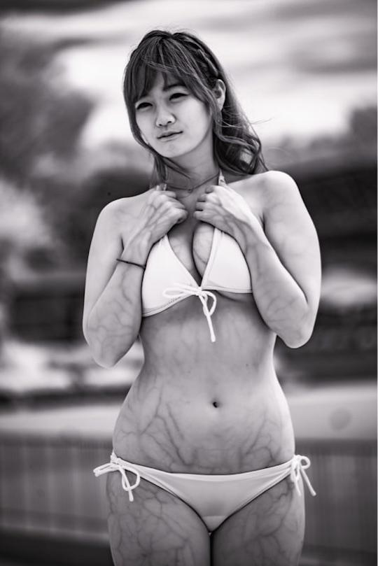 japanese girl bikini swimsuit infrared camera sexy tosatsu hot body