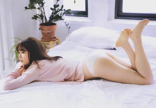erika ikuta photobook nude nogizaka46 intermission naked sexy