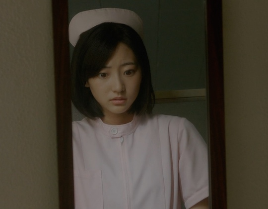 rena takeda atarashii ousama new king drama panchira nurse panties scene sexy TBS
