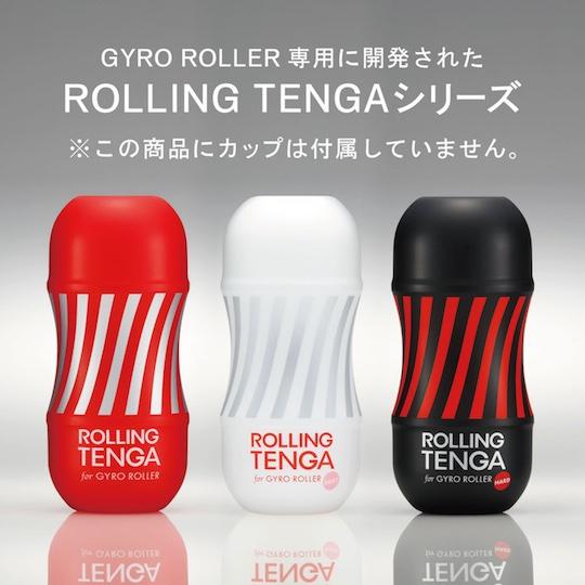 tenga gyro roller power sex machine masturbation toy adult aid