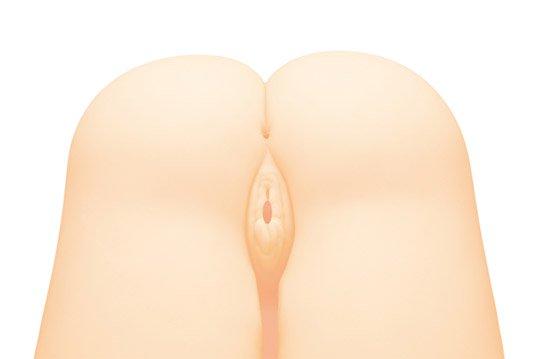 doggy style flat sex buttocks double hole tama toys onahole masturbator