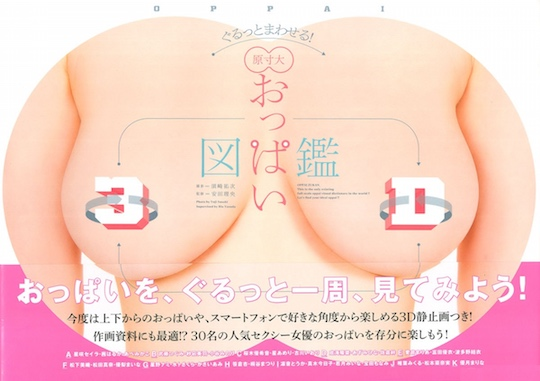 oppai zukan 3d adult porn video idol star japan book breasts book yuji susaki