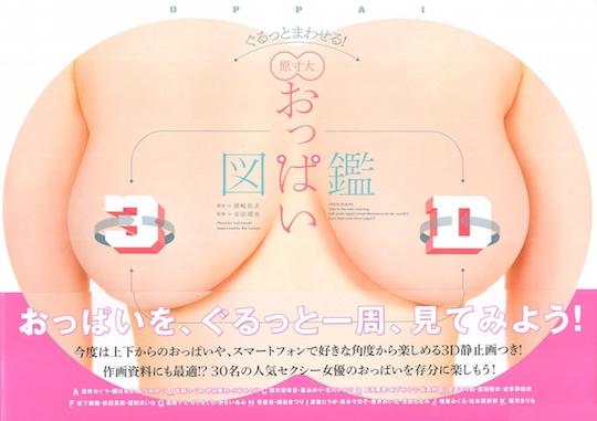 oppai zukan 3d adult porn video idol star japan book breasts book yuji susaki