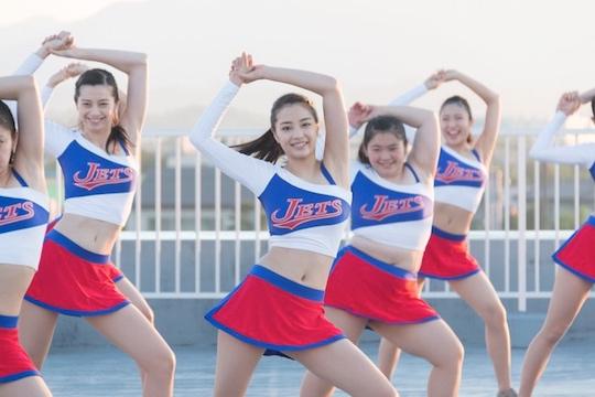 suzu hirose sexy cheerleader movie japanese body