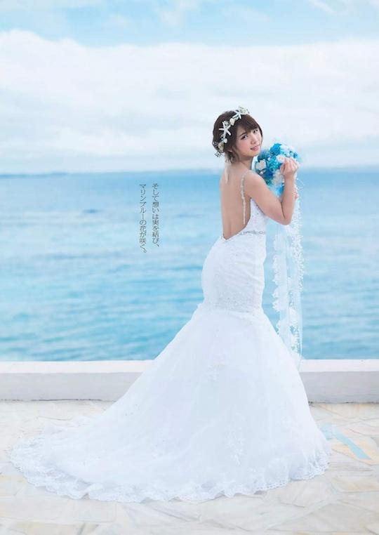 enako japanese cosplayer nude naked photo weekly playboy mermaid princess