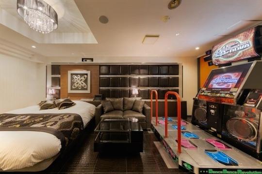 love hotel japan kobe dance dance revolution video arcade game play