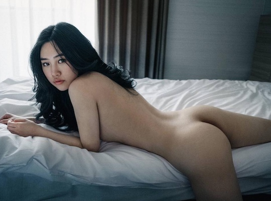 lisa m hot japanese model nude