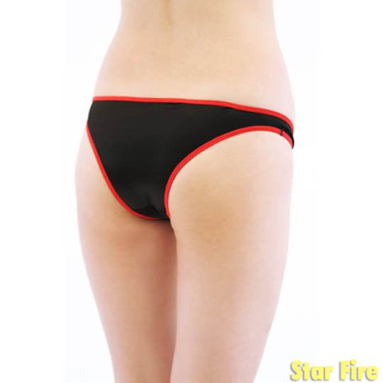 sport head panties face wear underwear fetish item