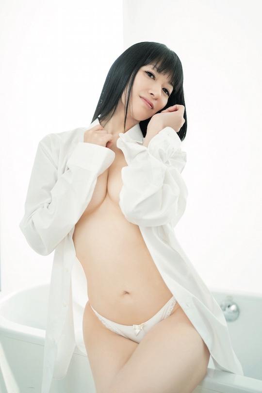 rie tanaka photo book comeback sexy nude naked seiyuu japanese