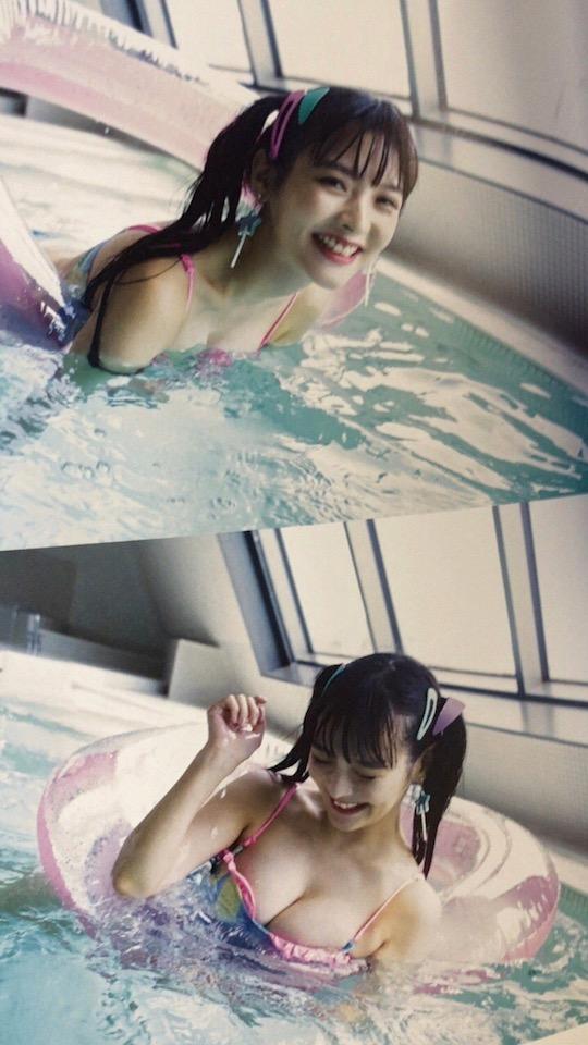 sumire uesaka japanese idol sexy bust photo breasts
