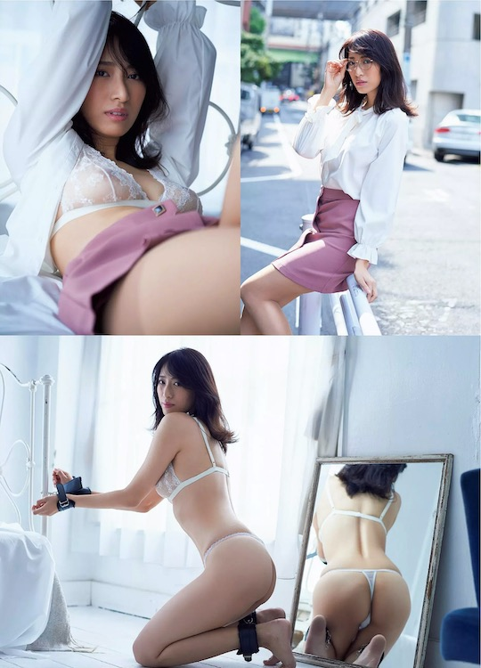 yuka someya gravure idol nude naked model gradol japanese hot sexy body busty breasts