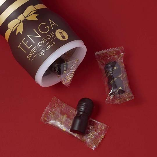 tenga sweet love cup chocolates japan valentines day adult toy sex masturbation