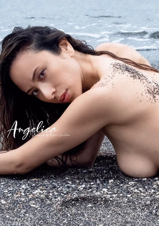 angelica michibata nude photo book comeback scandal
