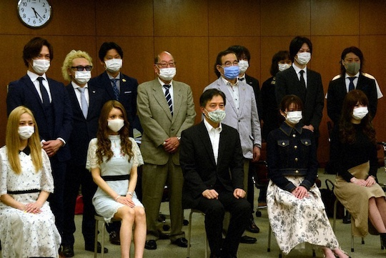 host club shinjuku tokyo kabukicho infection coronavirus covid19 testing