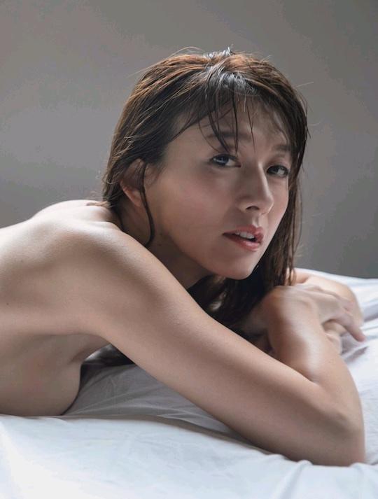 japanese tv announcer sexy nude naked photo yukari oshima