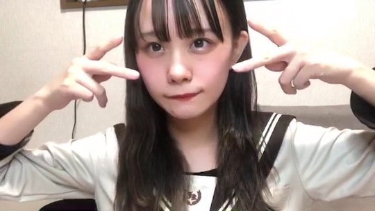 airi rissen akb48 idol flash panties upskirt panchira video online live stream