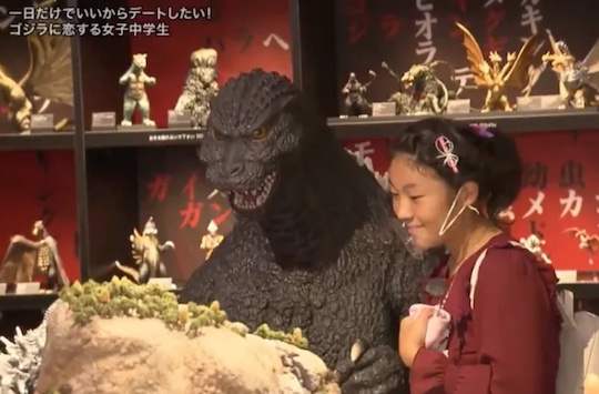 godzilla date japanese female teenager
